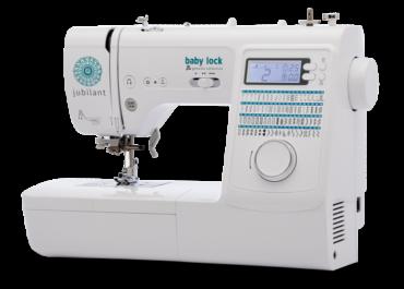 The Baby Lock Jubilant Sewing Machine